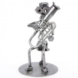 Tuba Spieler - Schraubenmännle