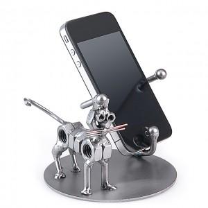 Katze Schraubenmännle Smart-Phone Halter
