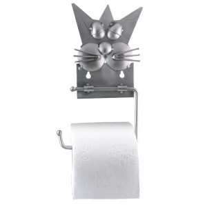 Katze Klopapierhalter